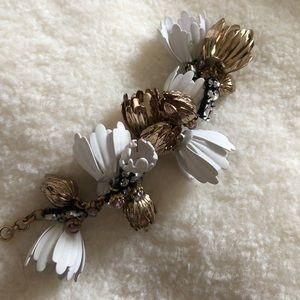 JCREW Floral Bracelet